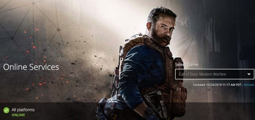 How to fix Call of Duty: Modern Warfare connection problems.