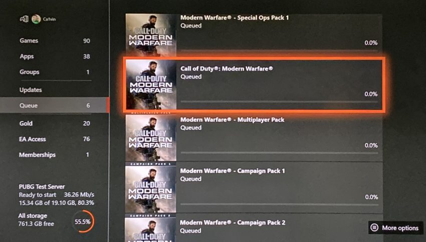 Fix slow Modern Warfare Downloads.