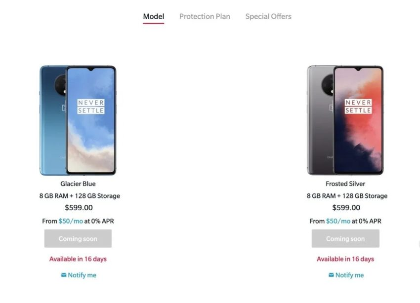 OnePlus 6T vs OnePlus 7T: Price & Release DAte