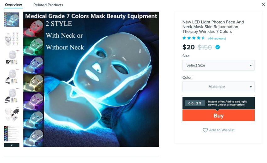 LED Beauty Mask