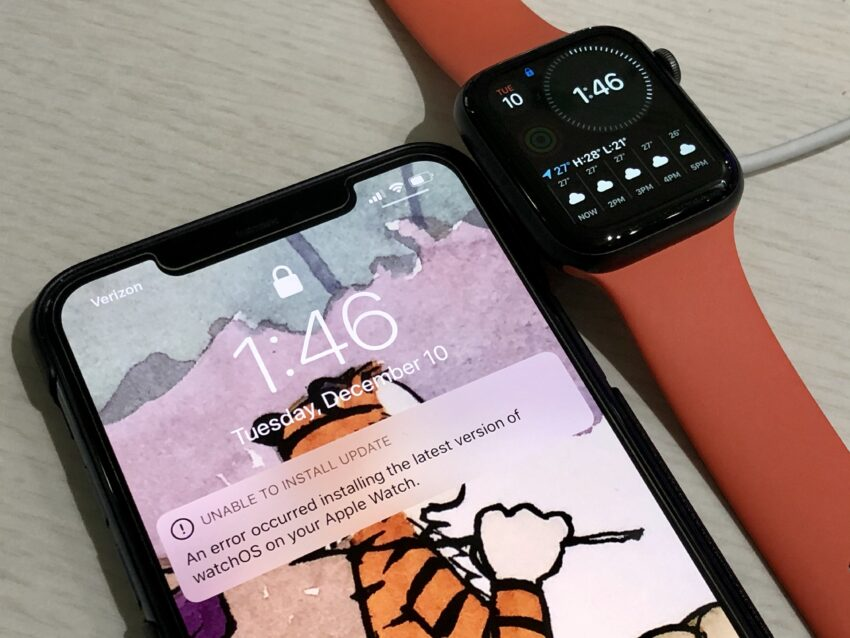 Don't Install watchOS 6.2.8 if You're Worried about Problems