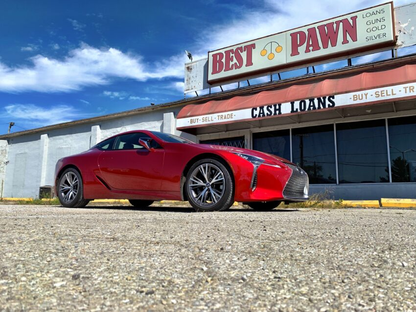 The LC 500 is a blast to drive.