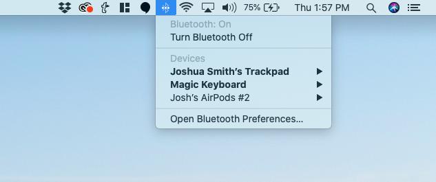 Turn off WiFi or Bluetooth.