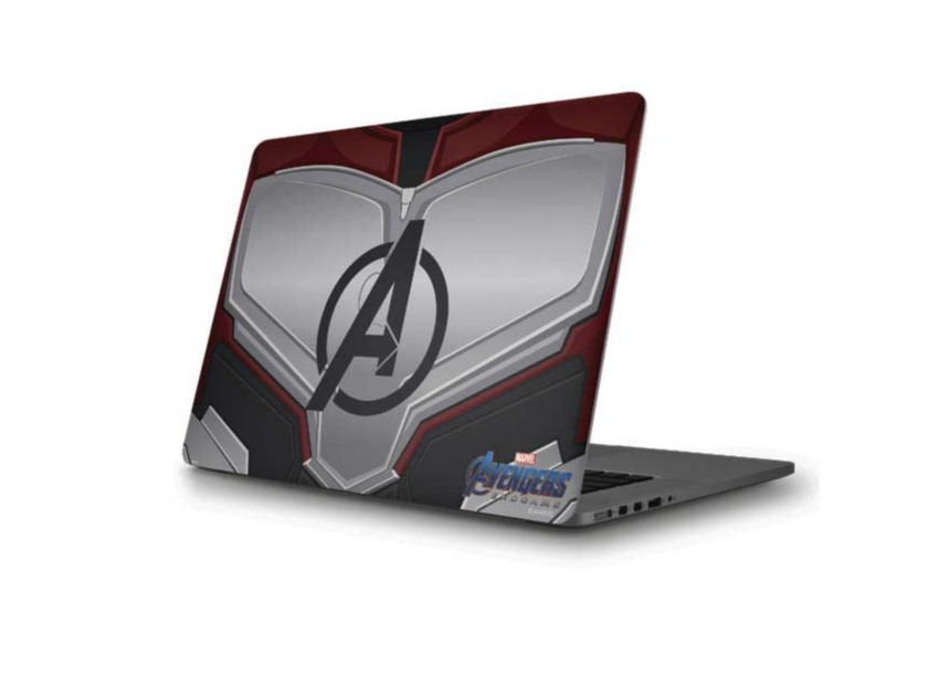 Skinit offers textures and tons of licensed skins for the MacBook Pro 16 as well as a custom one with your design.