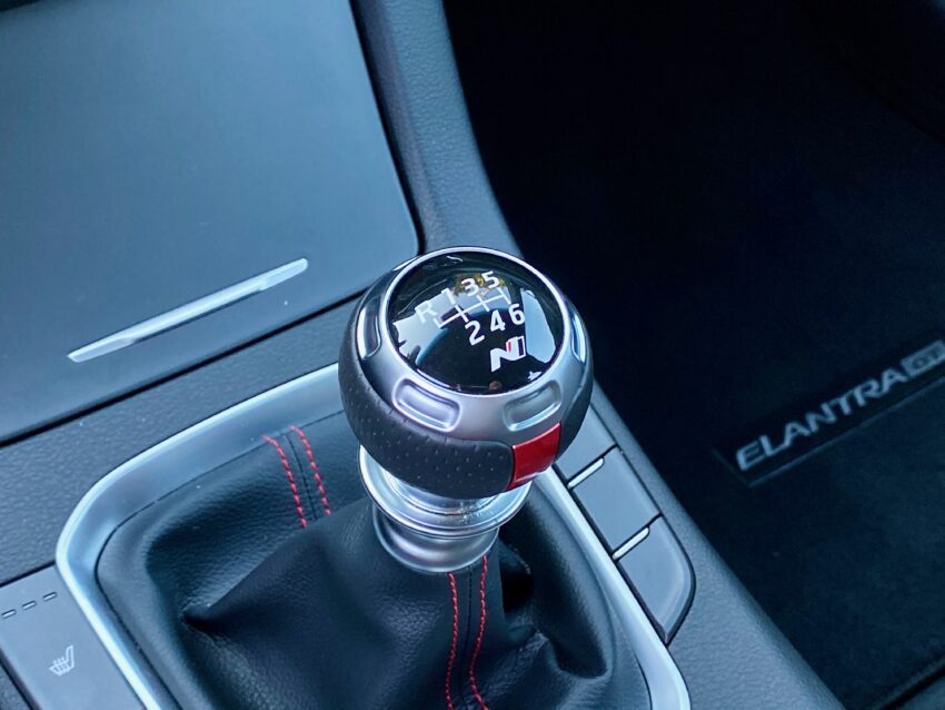 The six-speed manual is a fun option, but you can't ad the Tech Package.