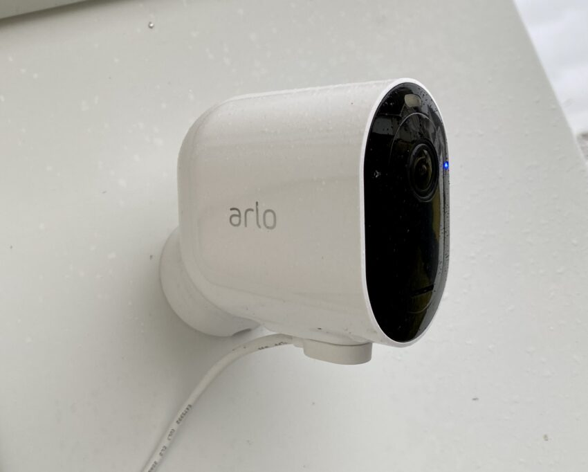 The Arlo Pro 3 is easy to install, simple to setup and records in 2K.