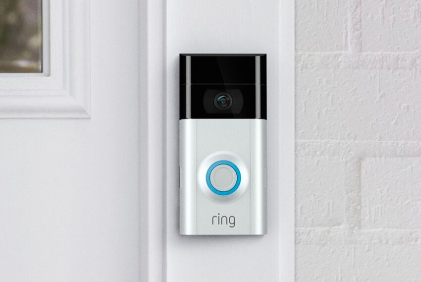 A video doorbell can give peace of mind to older parents.