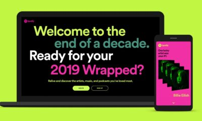 Get your Spotify Wrapped data for 2019.