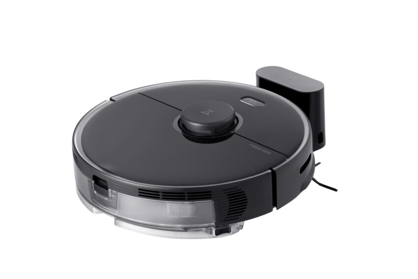 Robot vacuum cleaners like the Roborock S5 Max use lasers to scan your home.
