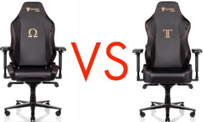 How do the Secretlab Titan and Omega compare?