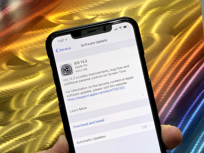 Install iOS 13.3 for Better Security