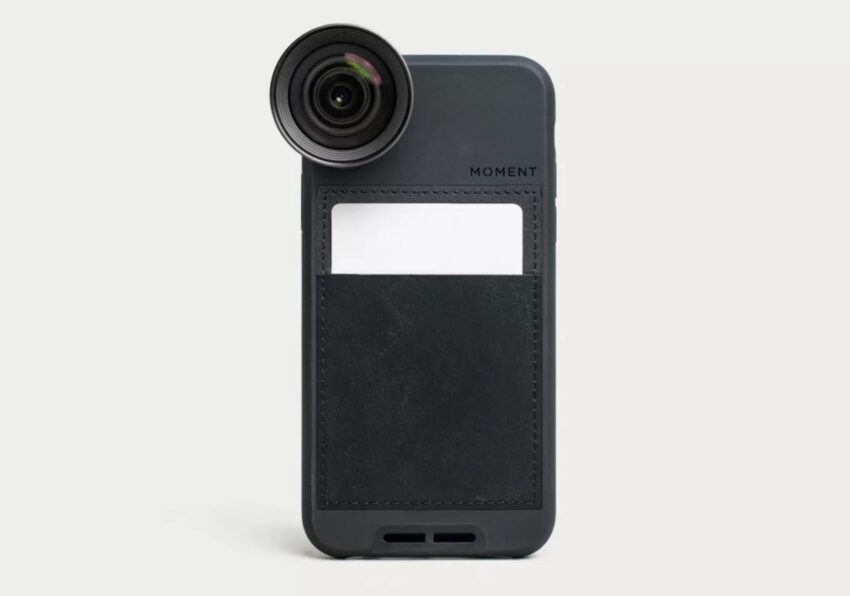 Moment lenses and a case are the best gift for iPhone photographers.