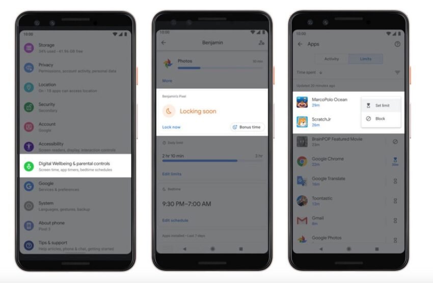 Install Android 10 for Digital Wellbeing Enhancements