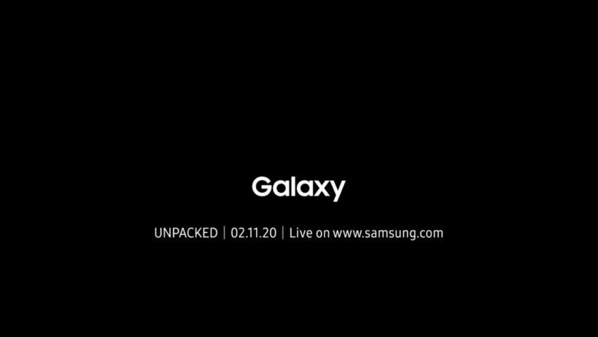 Watch the Galaxy S20 Event