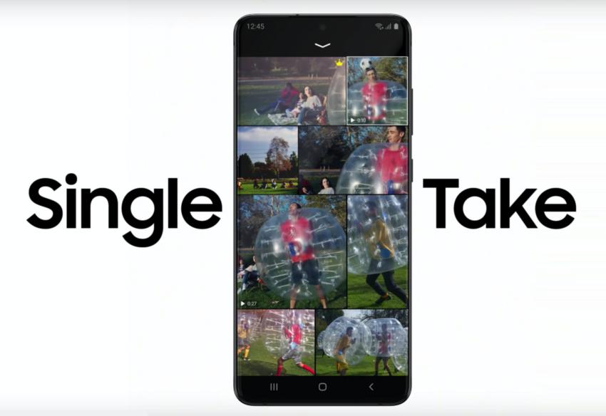 Take 10 Photos & 4 Videos with One Tap (Single Take)