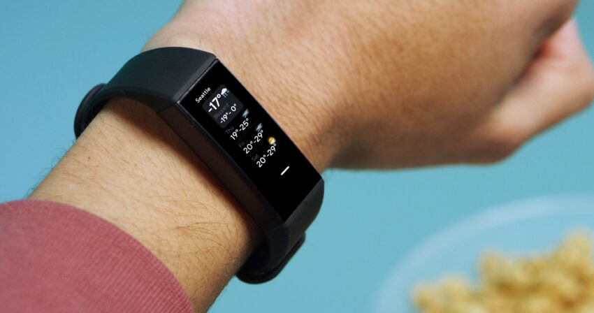 Th Wyze band tracks your fitness and controls your smart home.