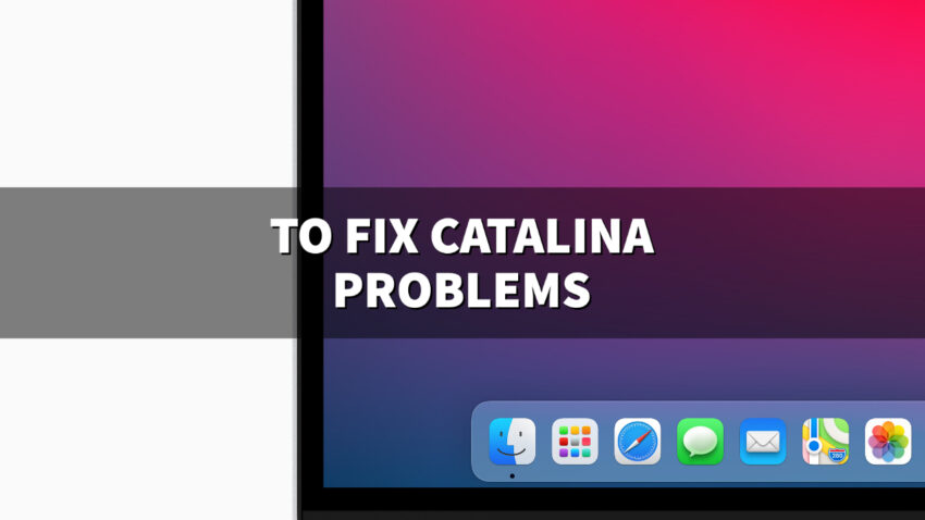 Install if you have macOS Catalina Problems