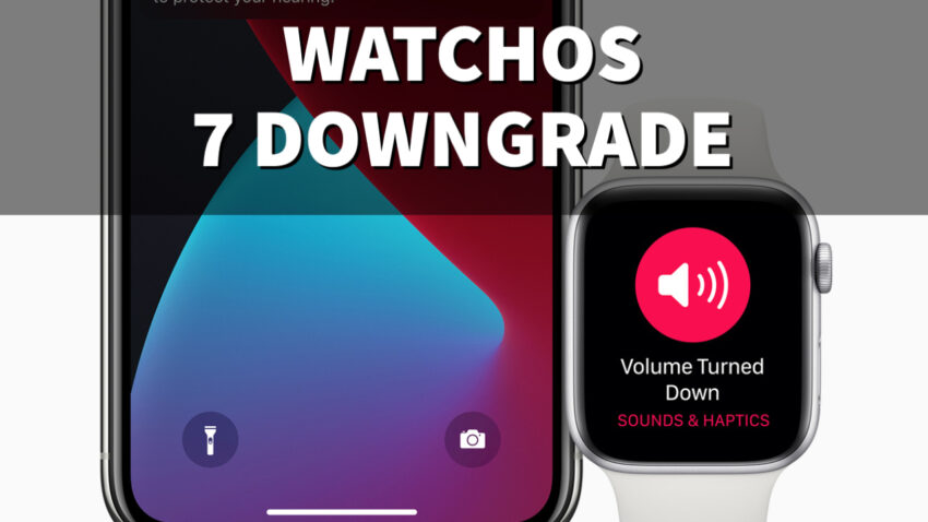 Don't Install Because You Can't Downgrade watchOS 7 to watchOS 6