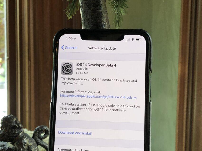 Install to Help Improve Apple Improve iOS 14