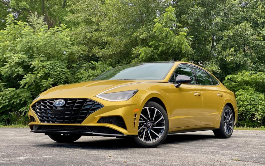 2020 Hyundai Sonata Review Smart Tech Slick Style