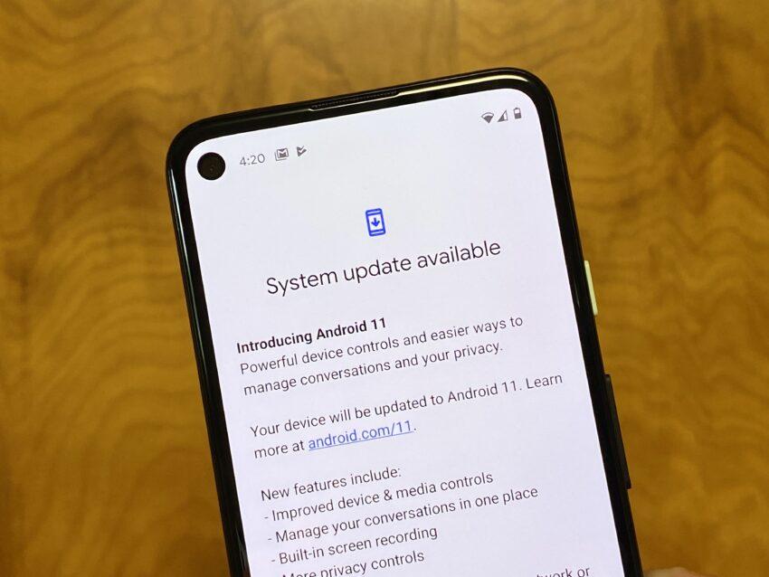 アップデート android11 Android のバージョンを確認して更新する