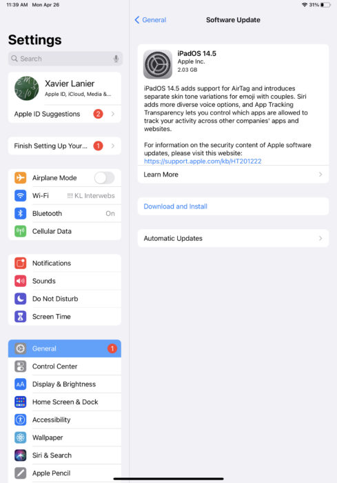 Install iPadOS 14.8 for Improvements to Podcasts