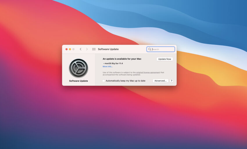 Install macOS Big Sur 11.4 for Better Security