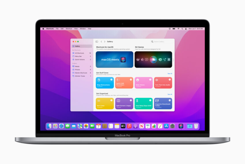 Install macOS Monterey Beta to Try Shortcuts