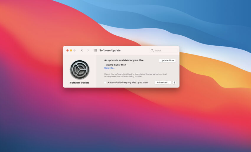 Install macOS Big Sur 11.5.1 for Better Security