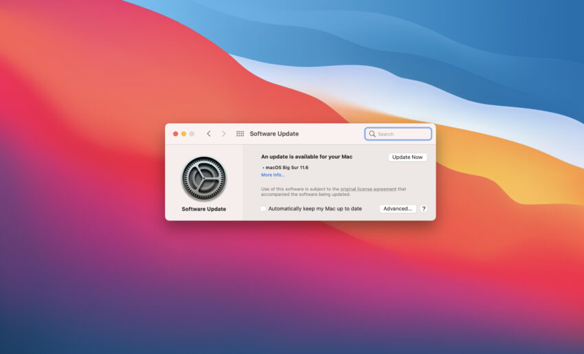 Install macOS Big Sur 11.6 for Better Security