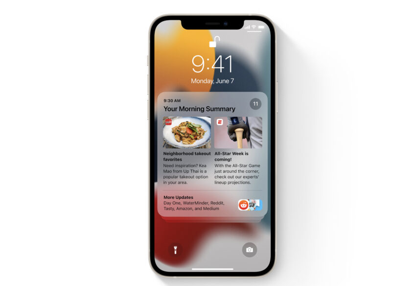 Install iOS 15.1 for the New Notification System