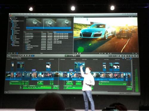 Final Cut Pro X announced