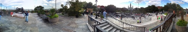 Photosynth Panorama of Jackson Square, New Orleans