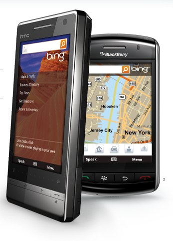 Bing for mobile