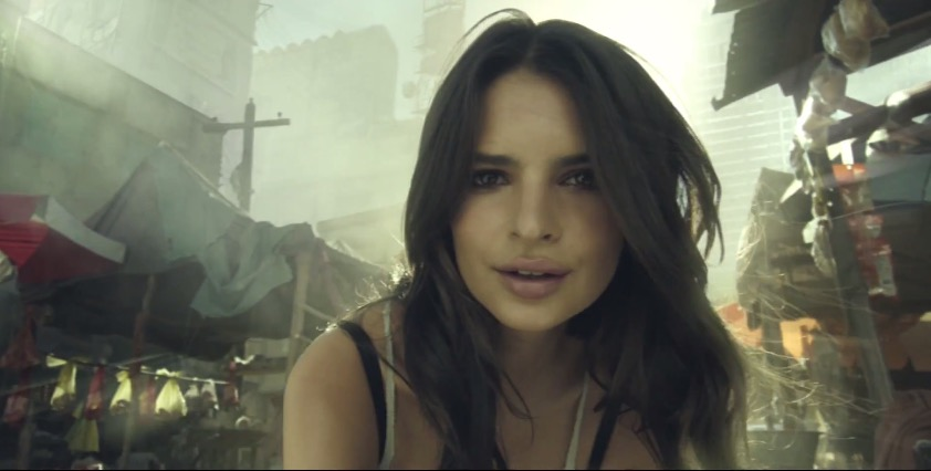 Emily Ratajkowski makes an appearance in the new Call of Duty: Advanced Warfare live action trailer.