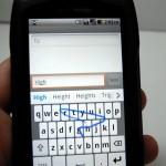 Casio G'zOne Commando Review - Keyboard