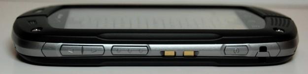 Casio G'zOne Commando Review - Build
