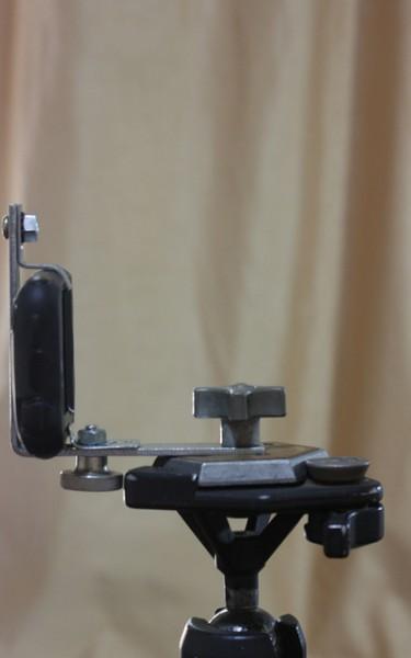 DIY smartphone stativ