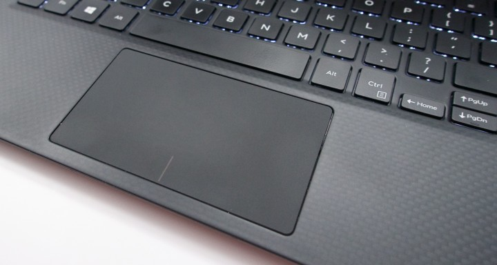 This is a very nice touch pad, especially for a Windows notebook.