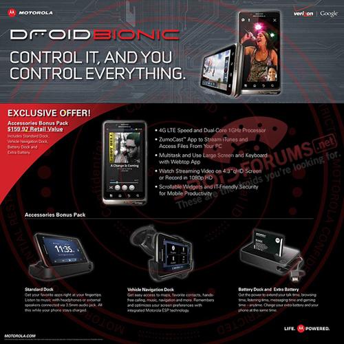 Droid Bionic Deal