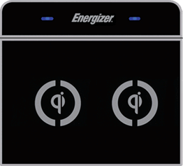 Energizer inductive qi charger