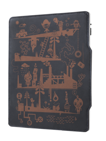 Grove iPad 2 custom leather smartcover
