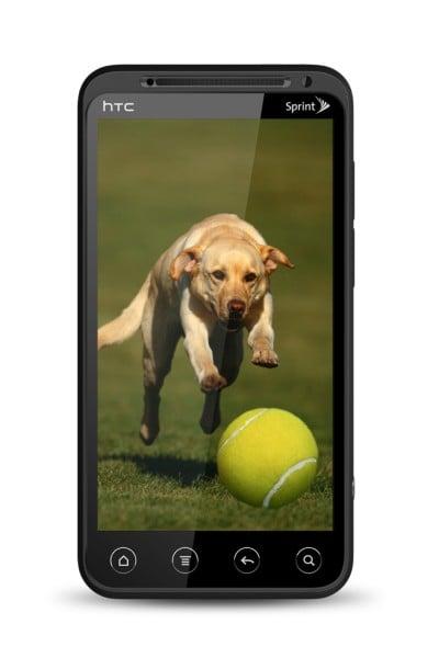 HTC EVO 3D glasses free 3D