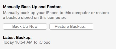 Create a manual restore on the computer.