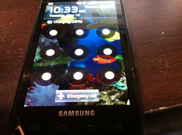 Android Unlock Screen Pattern