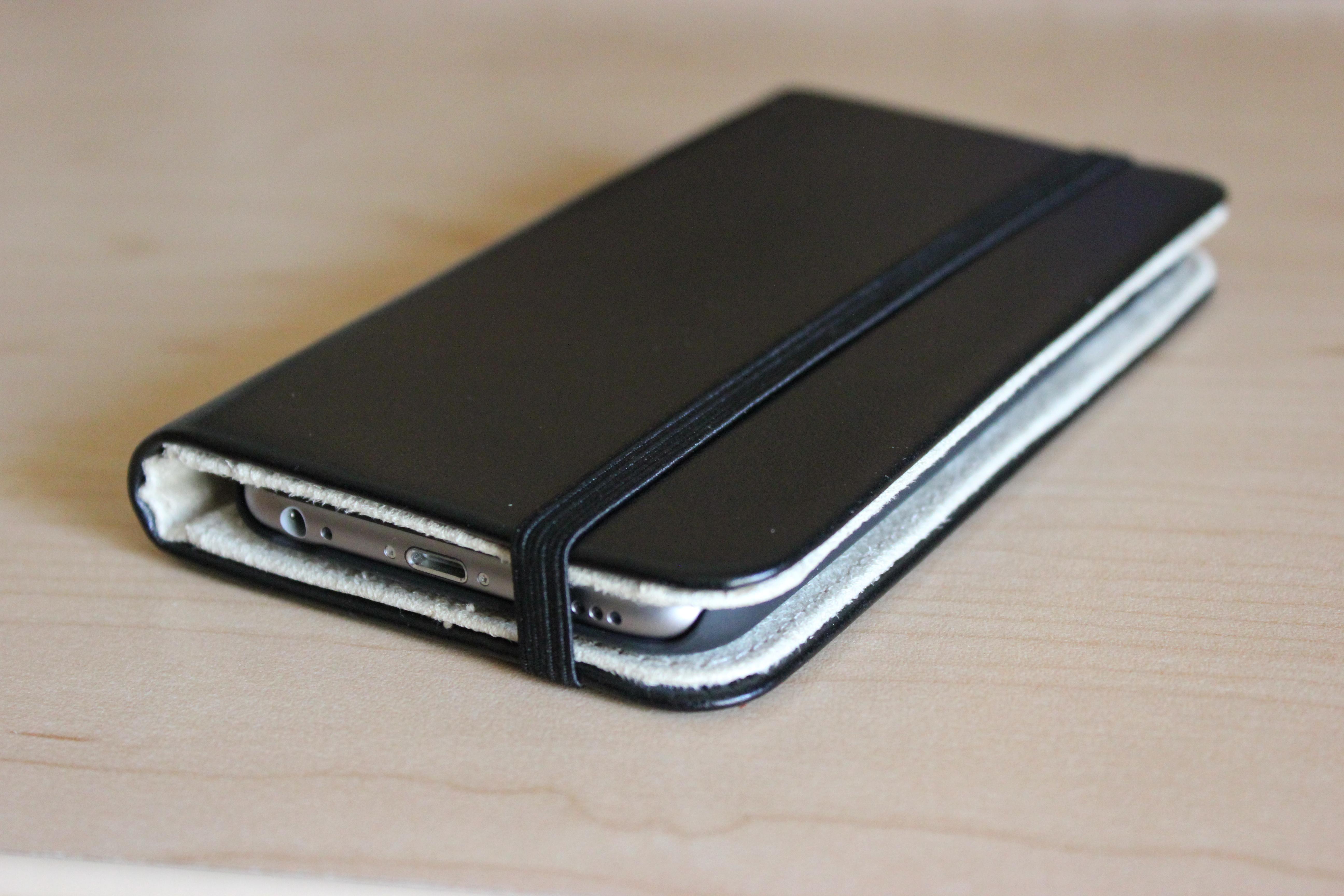 Moleskine Iphone  Case Review
