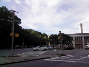 Outside shot of street and sky - Lenovo IdeaPad K1