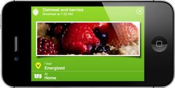 Jawbone Up Food Tracking