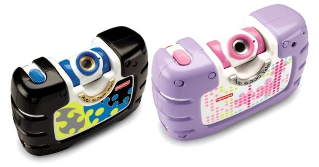 Kid Tough Camera with swivel lens - tech toys