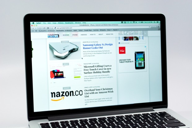 The MacBook Pro Retina delivers a great screen and enough power for portable productivity.